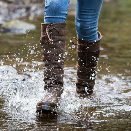 waterproof country boots