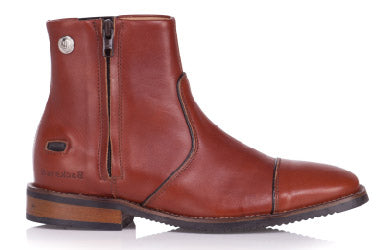 Dallas Riding Boot With Wooden Sole