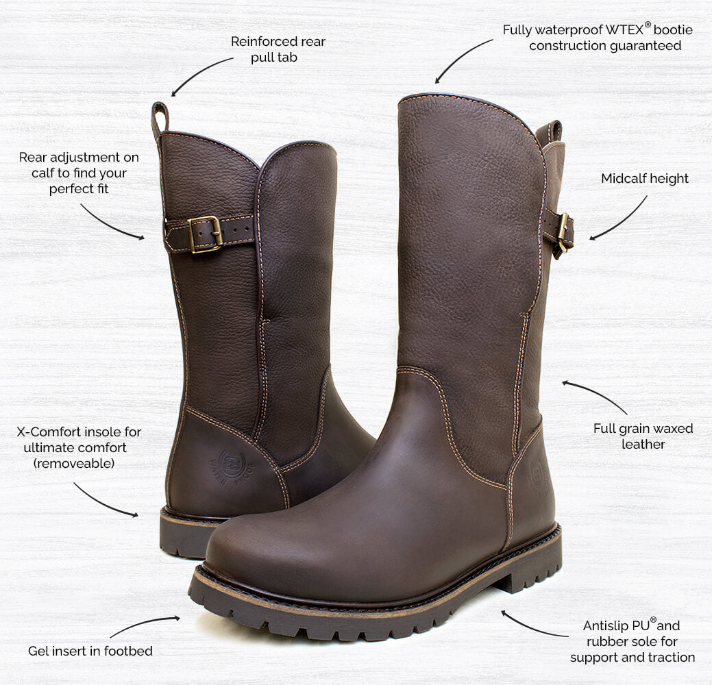 Quebec Waterproof Country Boots