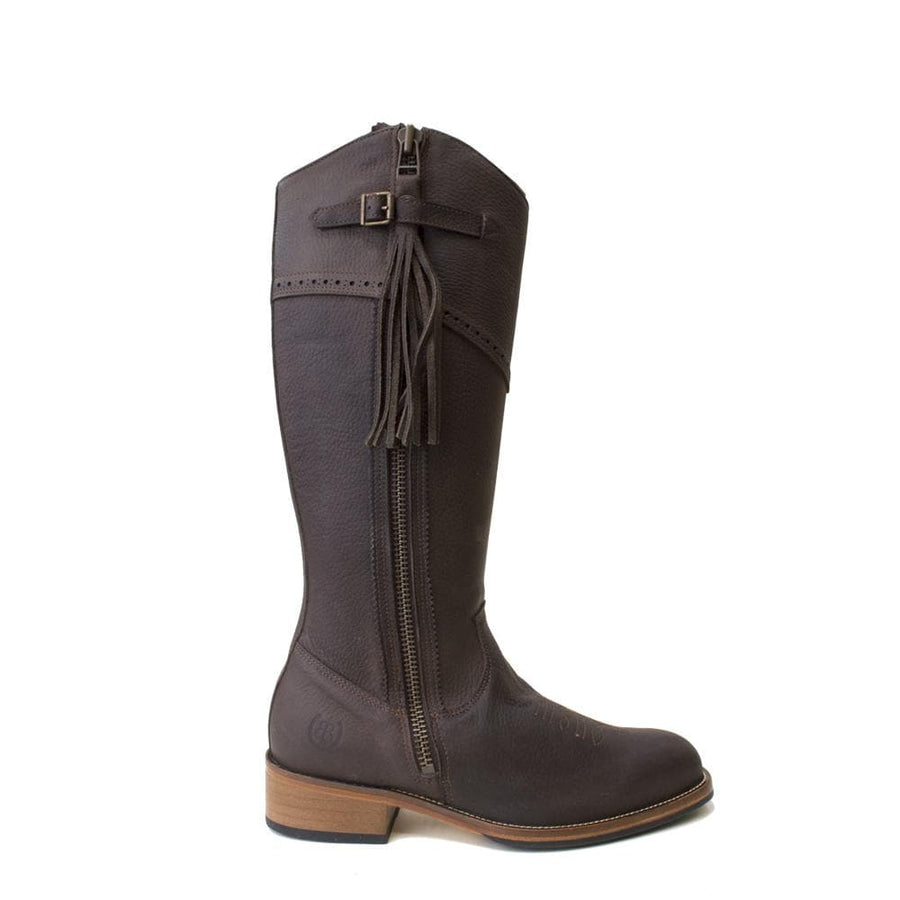 Mustang - Mid Calf Boot - Brown - Size 41 - Factory Second