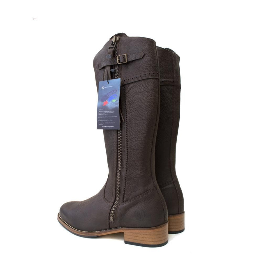 Mustang 2 - Mid Calf Boot - Brown - Size 41 - Factory Second