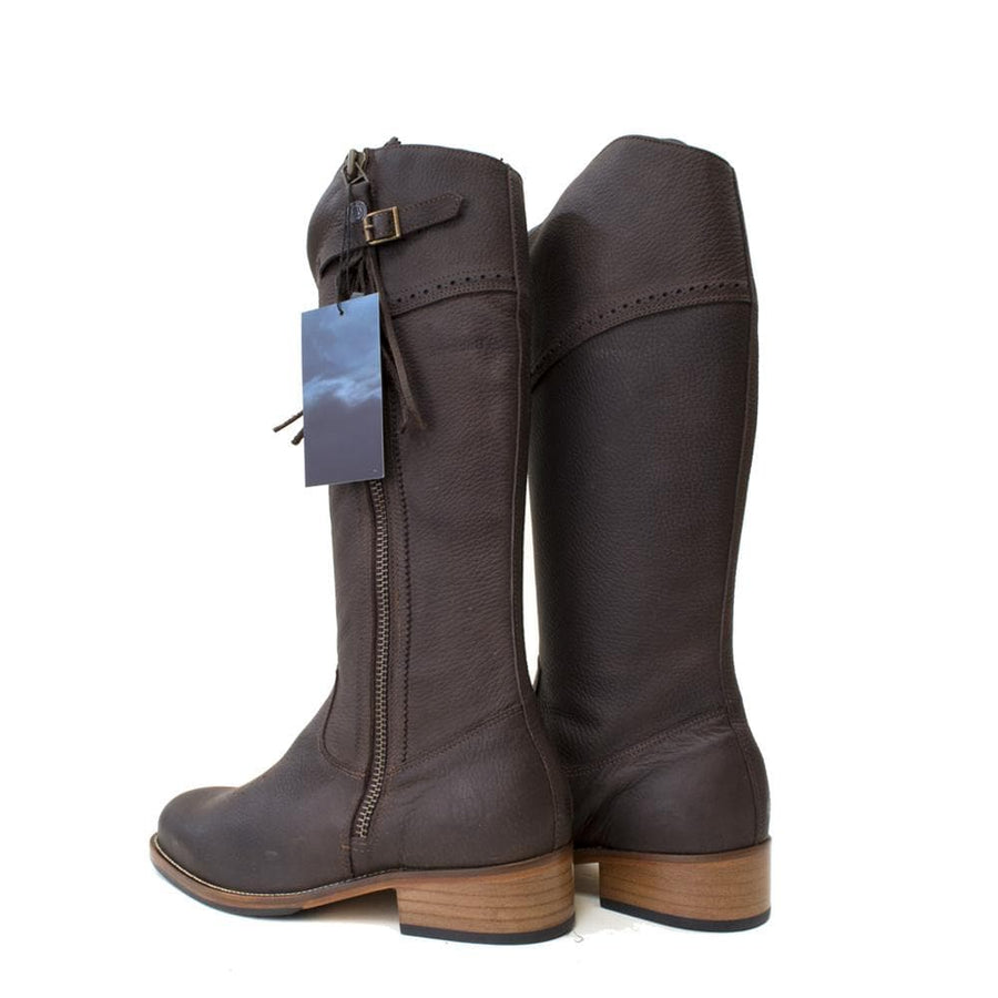 Mustang 2 - Mid Calf Boot - Brown - Size 42 - Factory Second
