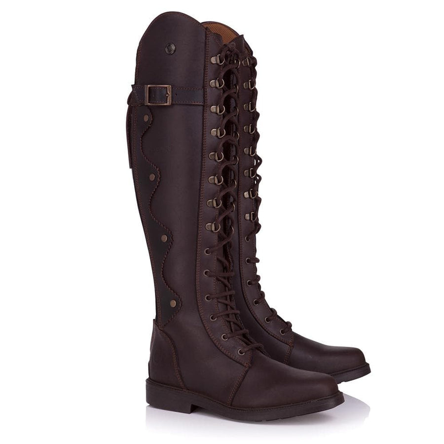 Andalucia Boots - Brown - Made to Measure - Bareback Footwear