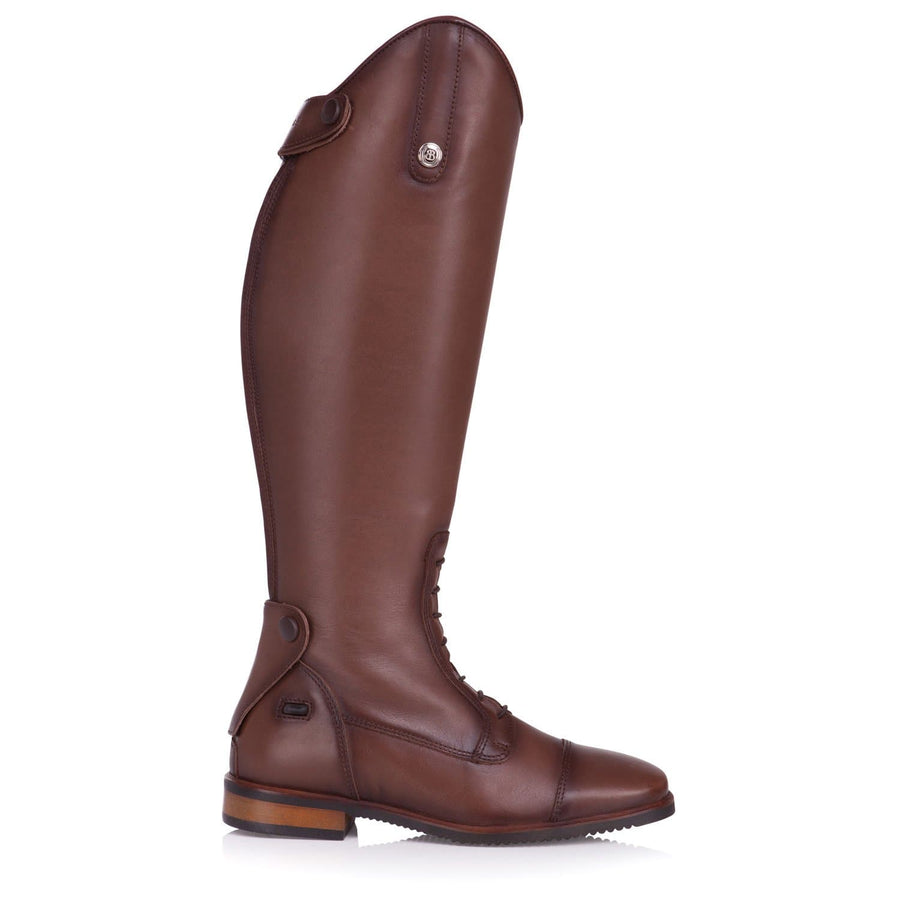 Beaumont Long Riding Boots - Vintage Brown - Bareback Footwear