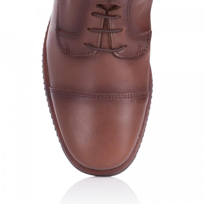 Beaumont Long Riding Boots - Vintage Brown - Made to Measure - Bareback Footwear