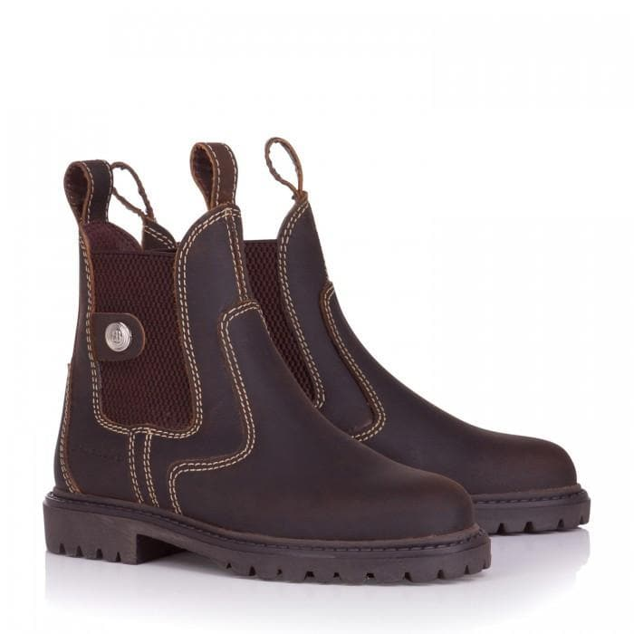 Childrens Bronx Boots - Brown - Bareback Footwear