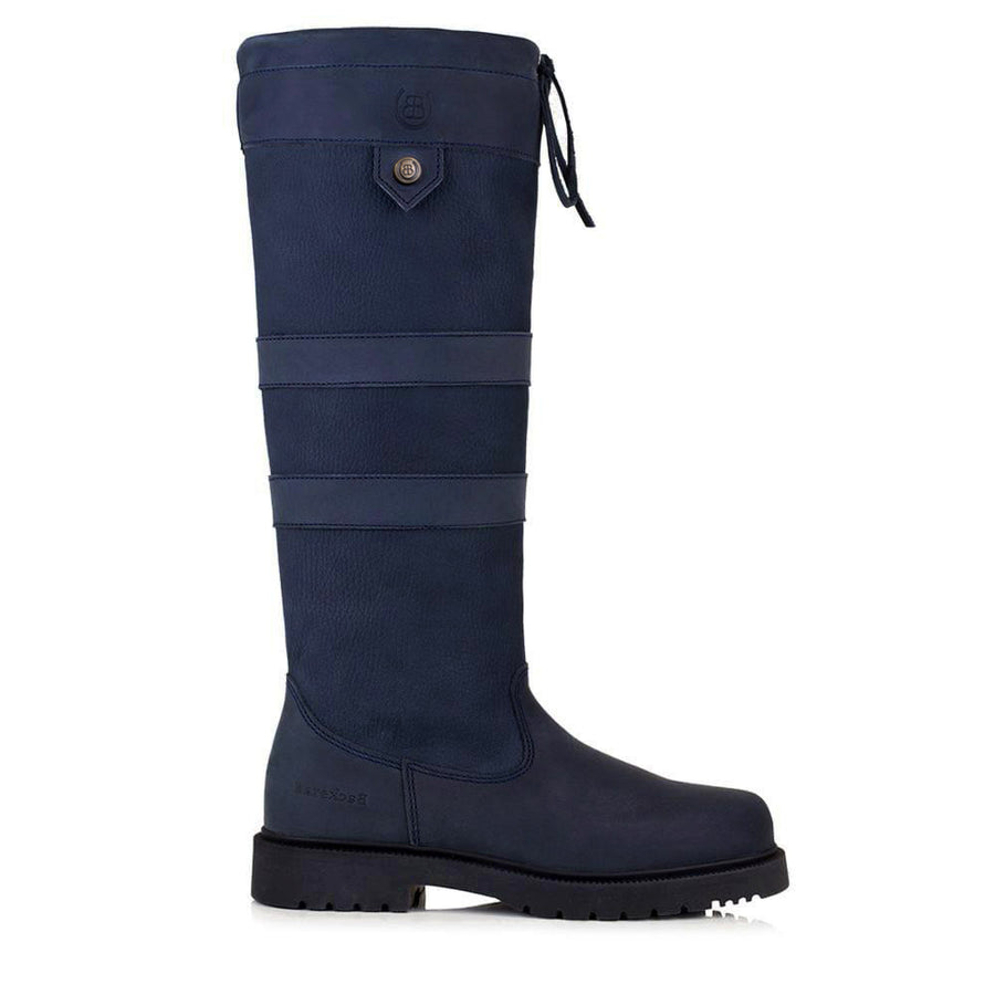 Dakota Waterproof Country Boots - Blue - Bareback Footwear
