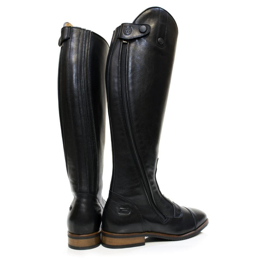 Graceland Long Riding Boots - Black - Made to Measure - Bareback Footwear