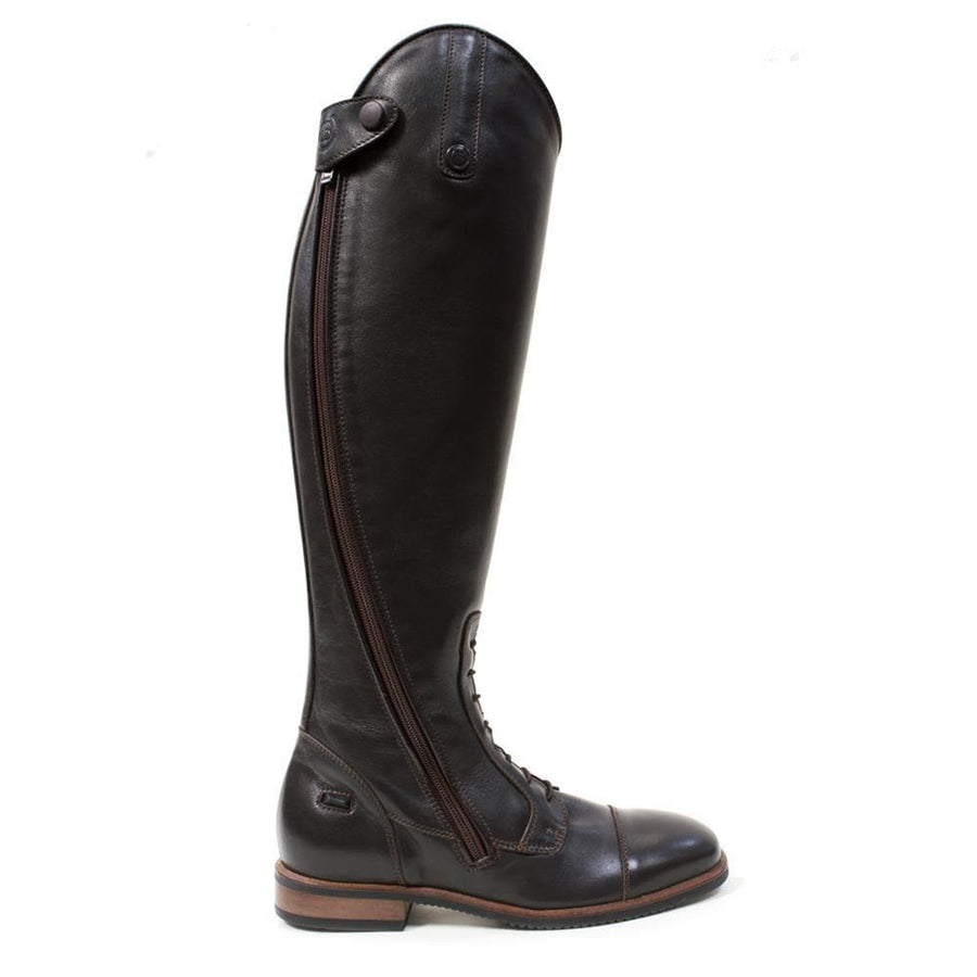 Graceland Long Riding Boots - Brown - Made to Measure - Bareback Footwear