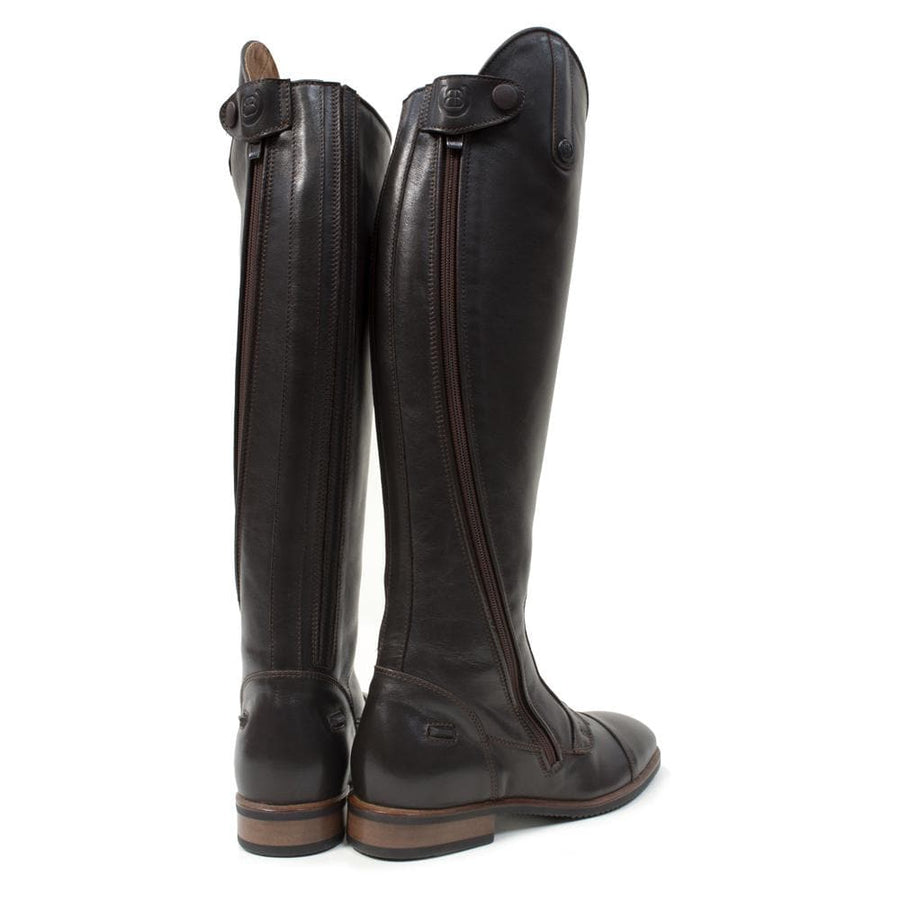 Graceland Long Riding Boot - Brown - Bareback Footwear