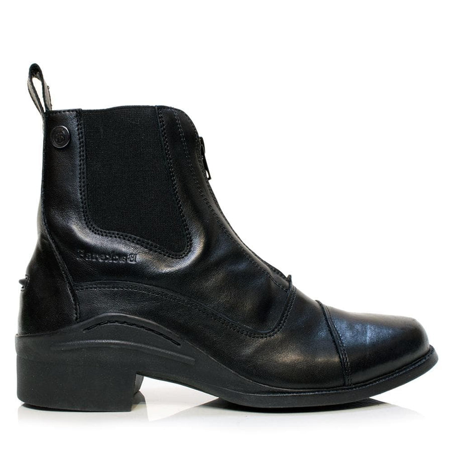 Idaho Jodhpur Riding Boots - Black - Bareback Footwear