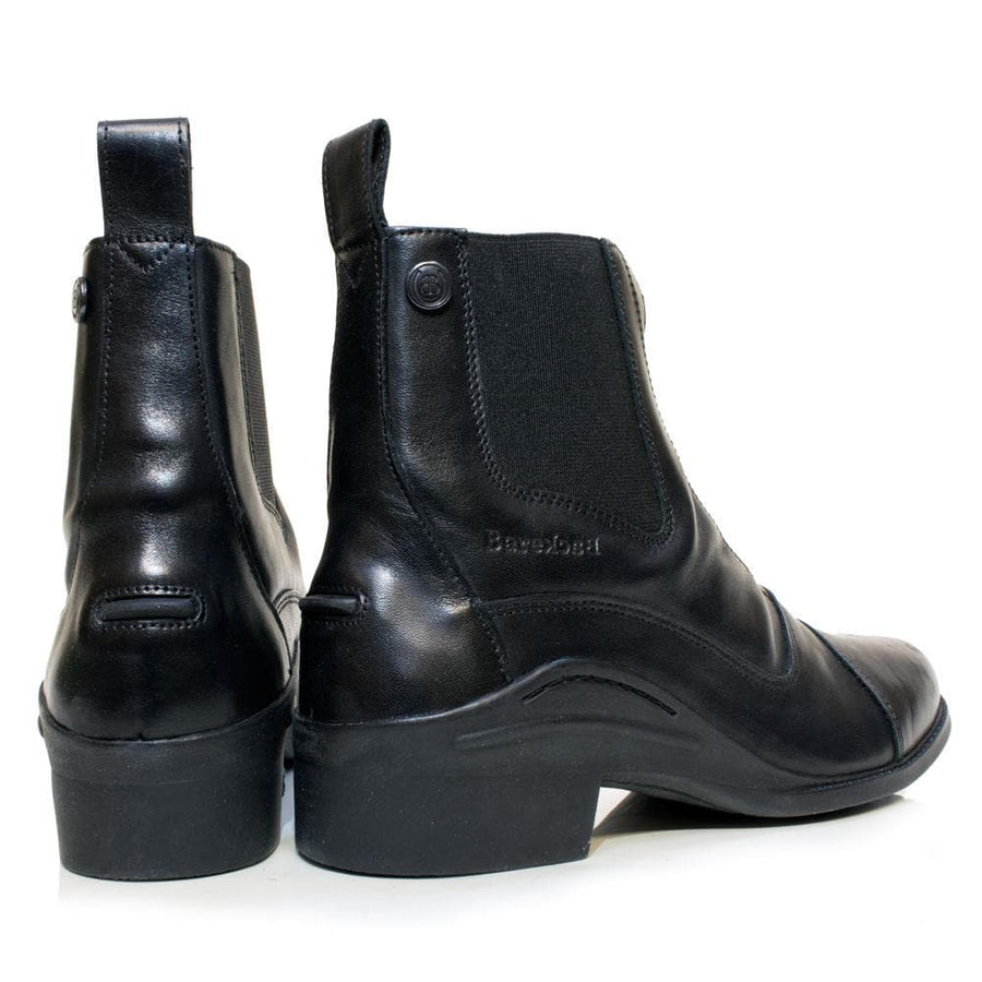 Idaho Short Riding Boots - Black - Bareback Footwear