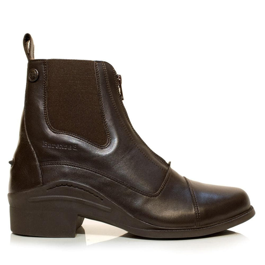 Idaho Short Riding Boots - Brown - Bareback Footwear