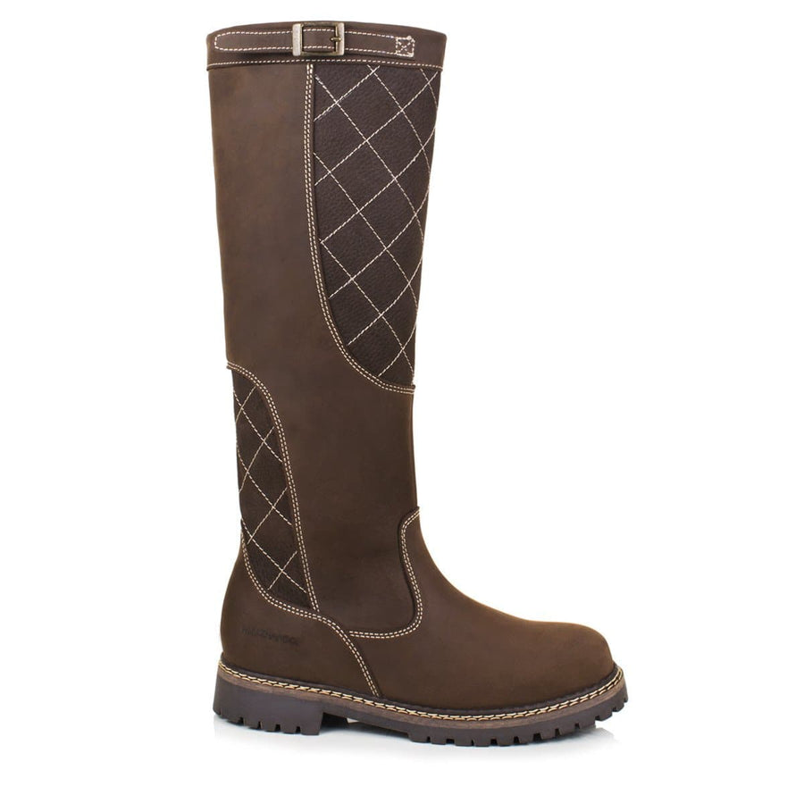 Kansas Waterproof Country Boots - Brown - Made to Measure - Bareback Footwear