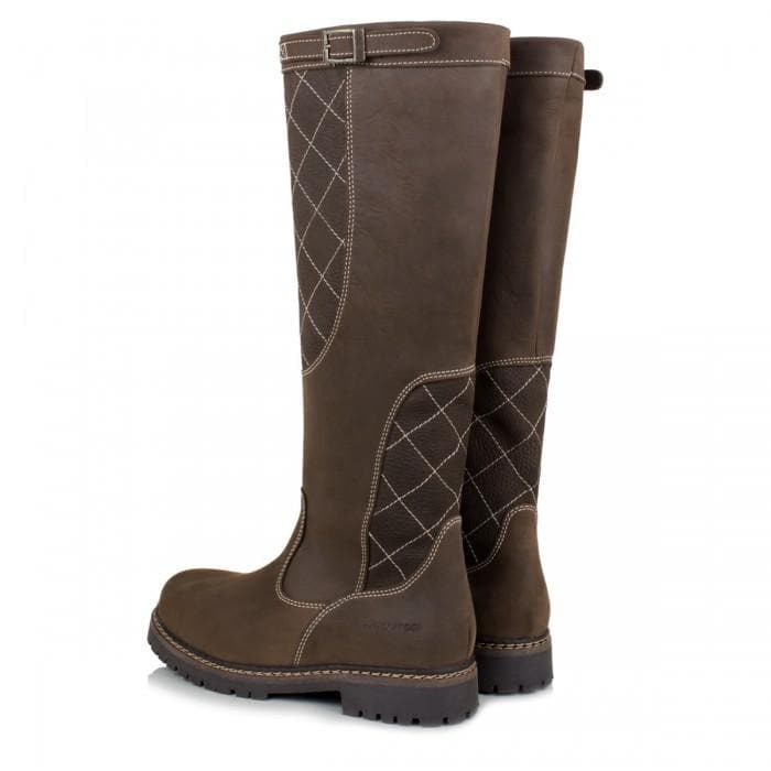 Kansas Waterproof Country Boots - Brown - Bareback Footwear