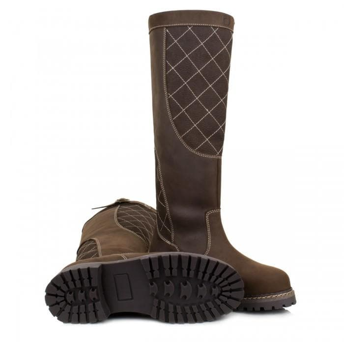 Kansas Country Boots - Brown - Made to Measure - Bareback Footwear