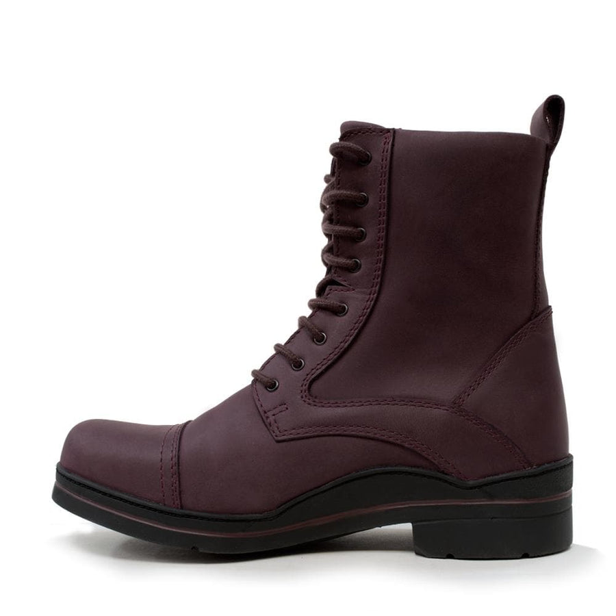 Kentucky Storm Waterproof Jodhpur Boots - Bordeaux