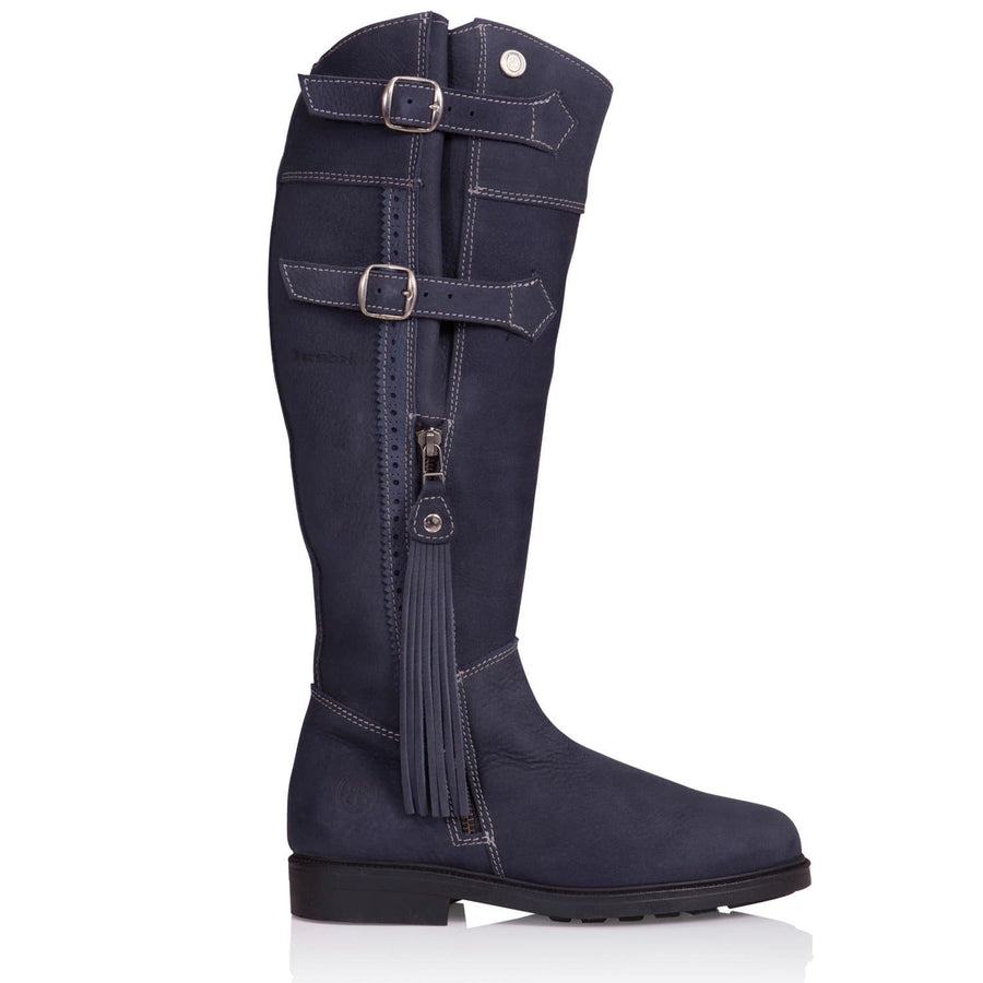 Lucianna Boots - Blue - Made to Measure - Bareback Footwear