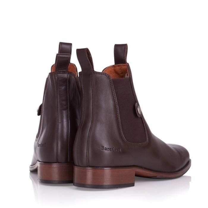Memphis Mens Ankle Boots - Brown - Bareback Footwear