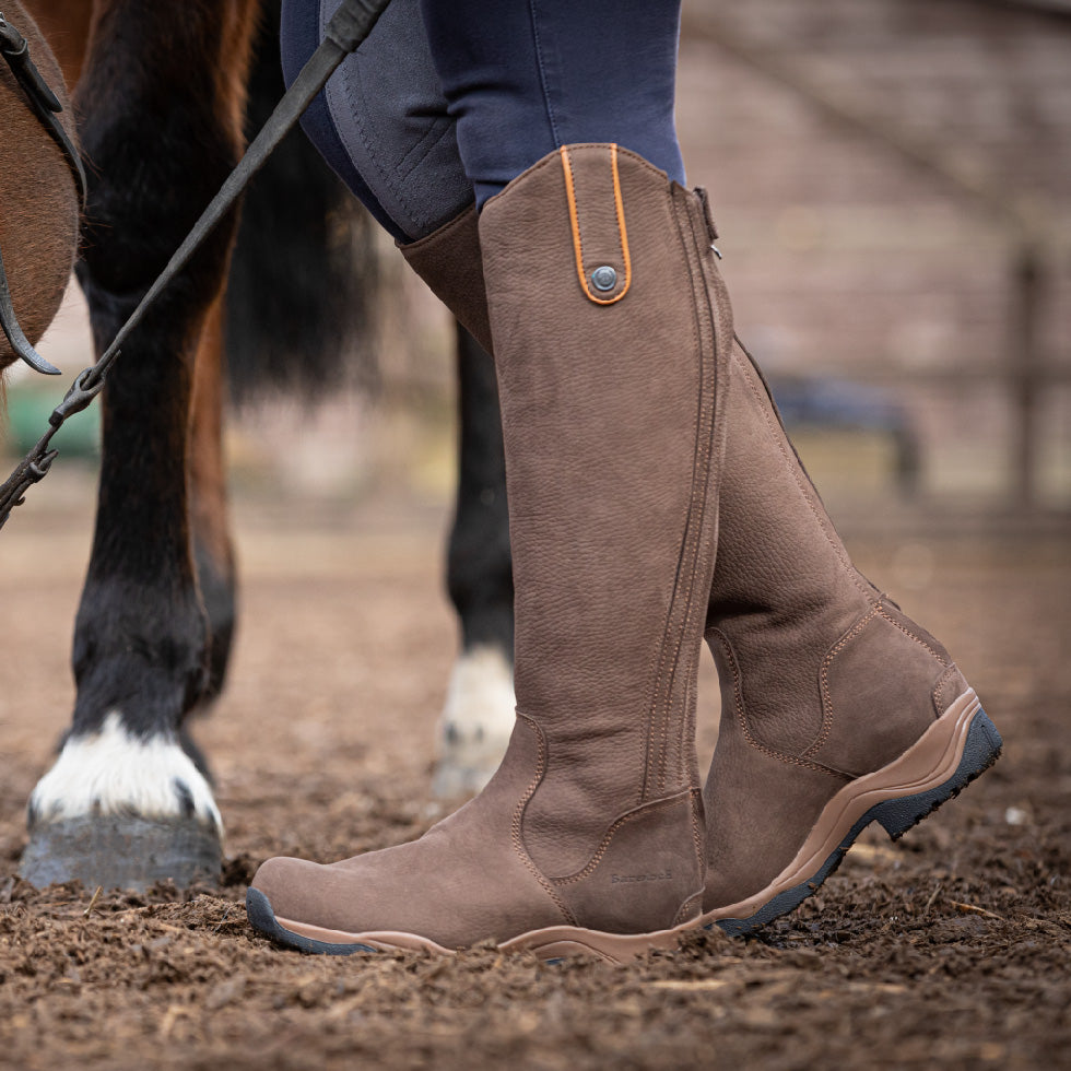 big size riding boot