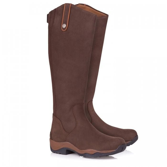 Montana Riding Boots - Brown - Made to Measure - Bareback Footwear