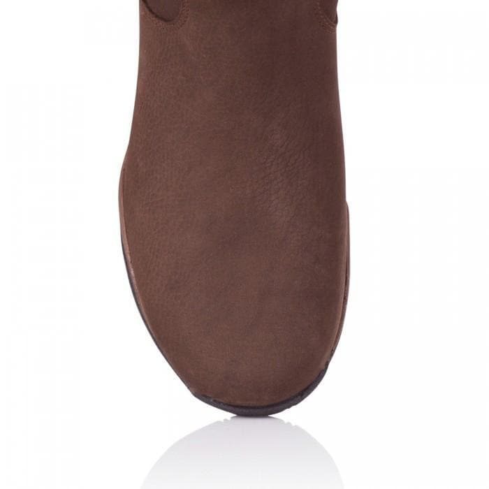 Montana Riding Boots - Brown - Bareback Footwear