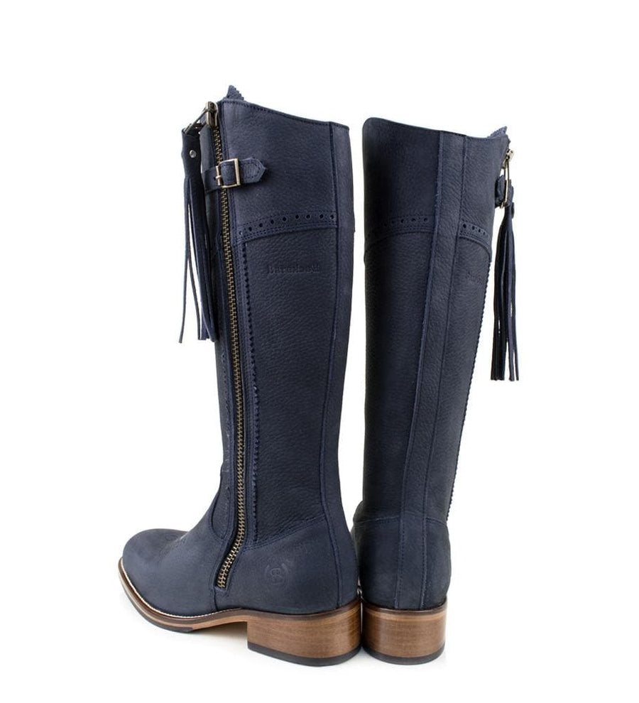 Mustang - Mid Calf Boot -Blue -Made to Measure - Bareback Footwear