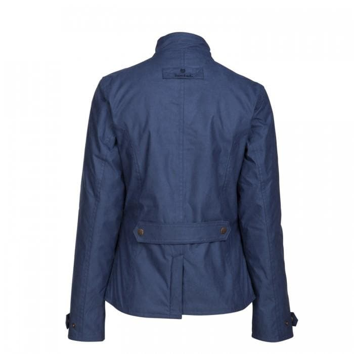 Mustang Waterproof Jacket - Regatta Blue - Bareback Footwear