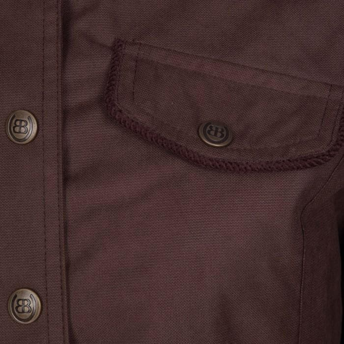 Mustang Waterproof Jacket - Chocolate - Bareback Footwear