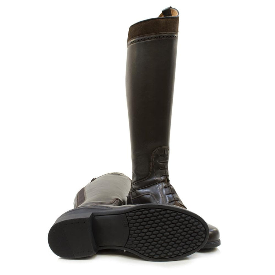 Phoenix Long Riding Boot - Brown - Bareback Footwear