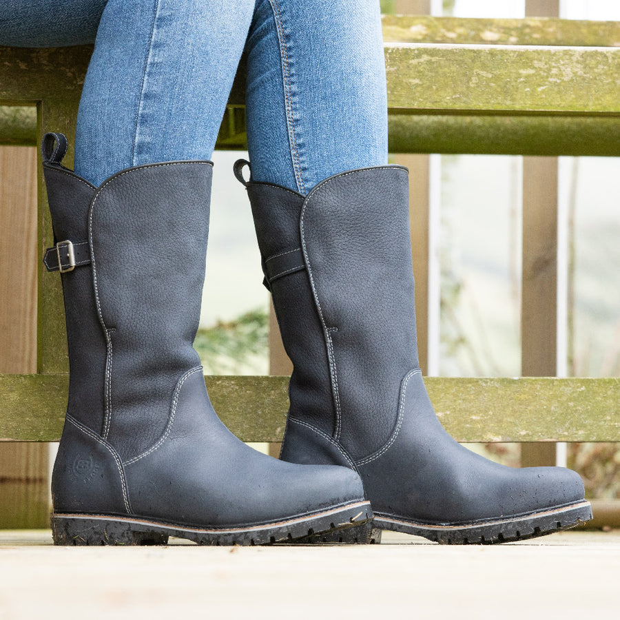 Quebec Waterproof Boots - Navy