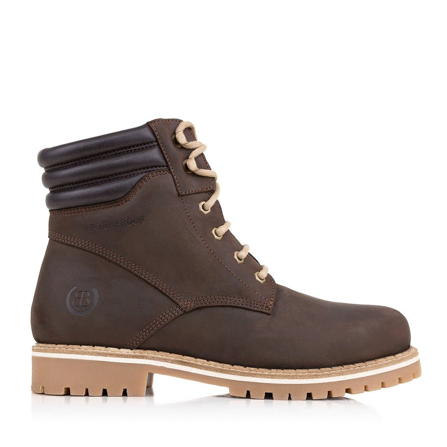 Rocky Waterproof Boots - Brown - Bareback Footwear