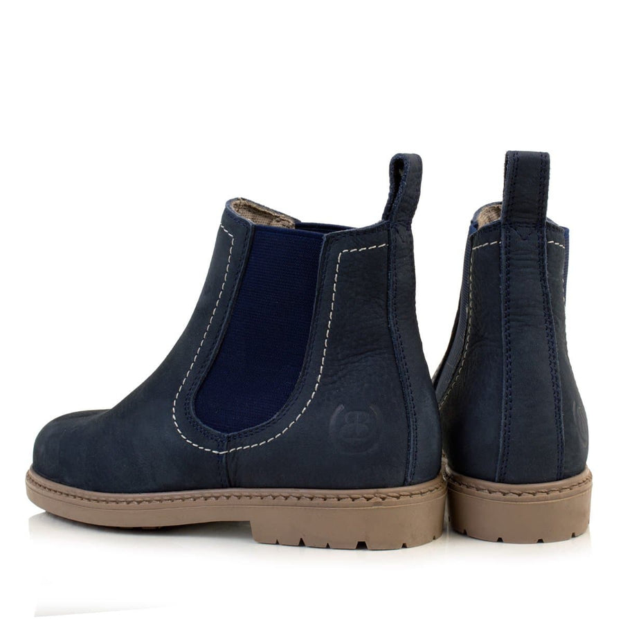 Toddy Blue Childrens Short Boot - Bareback Footwear