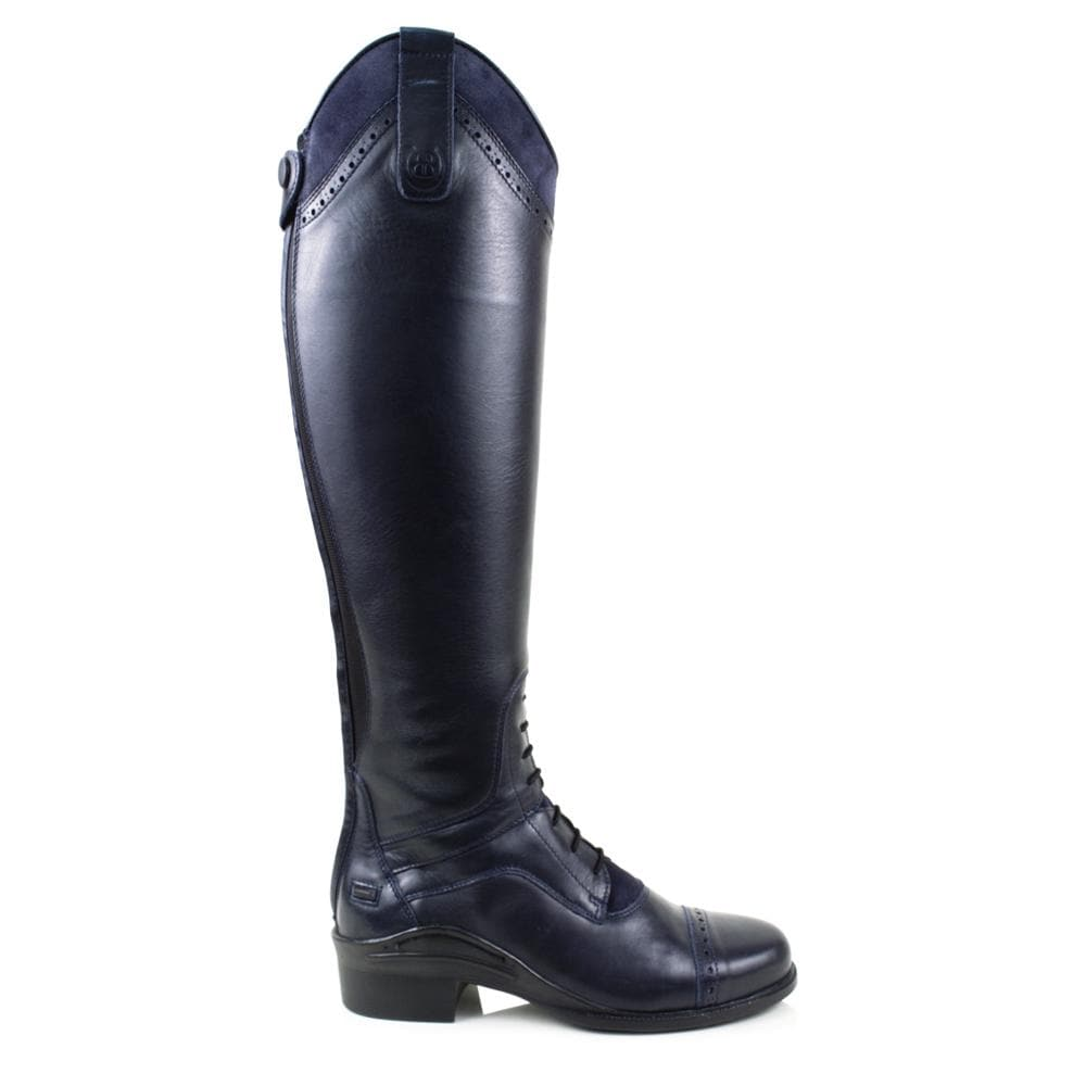 Phoenix Long Riding Boot -Navy- Made to Measure - Bareback Footwear