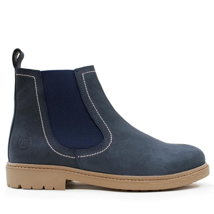 Toddy Blue Adults Short Boot - Bareback Footwear