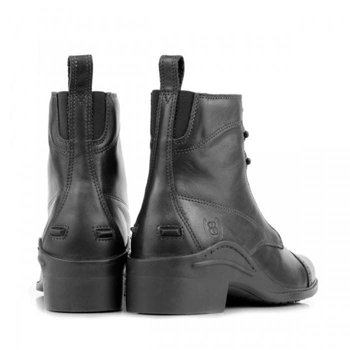 Windsor Riding Boots - Black - Bareback Footwear