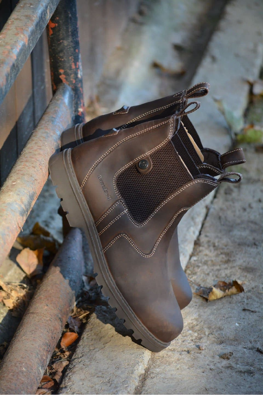 Bronx brown boots