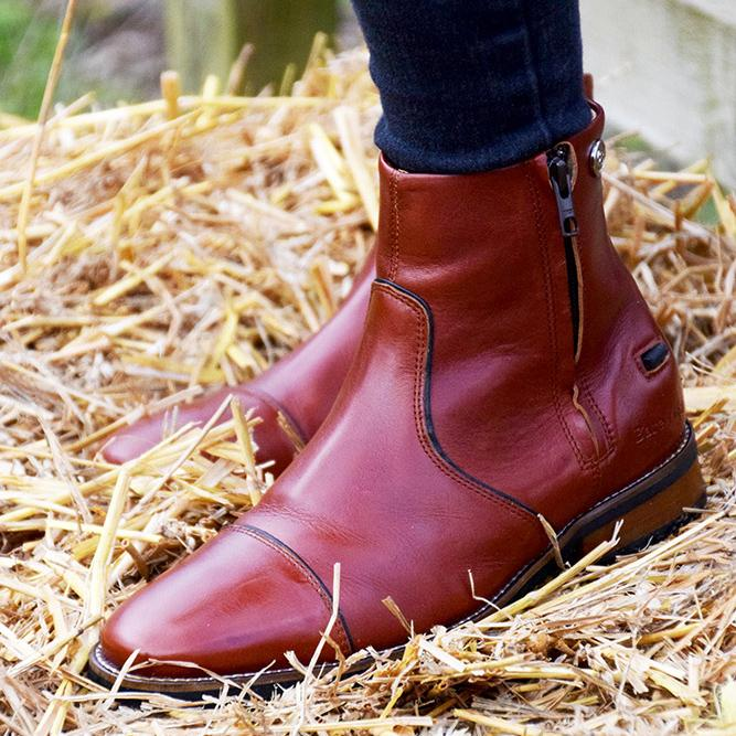 Dallas Boots - Burgundy - Bareback Footwear