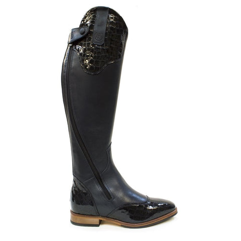 Phoenix Long Riding Boot-Navy