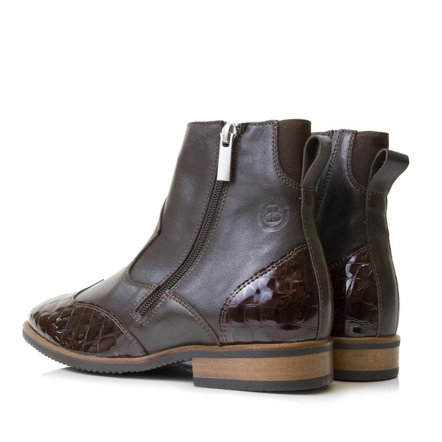 Monroe Brown Short Boot - Bareback Footwear