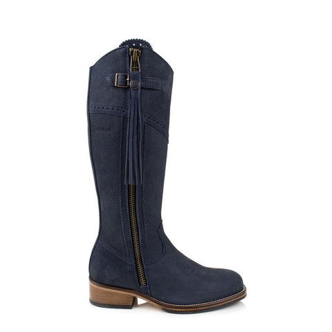 Monroe  Blue Short Boot