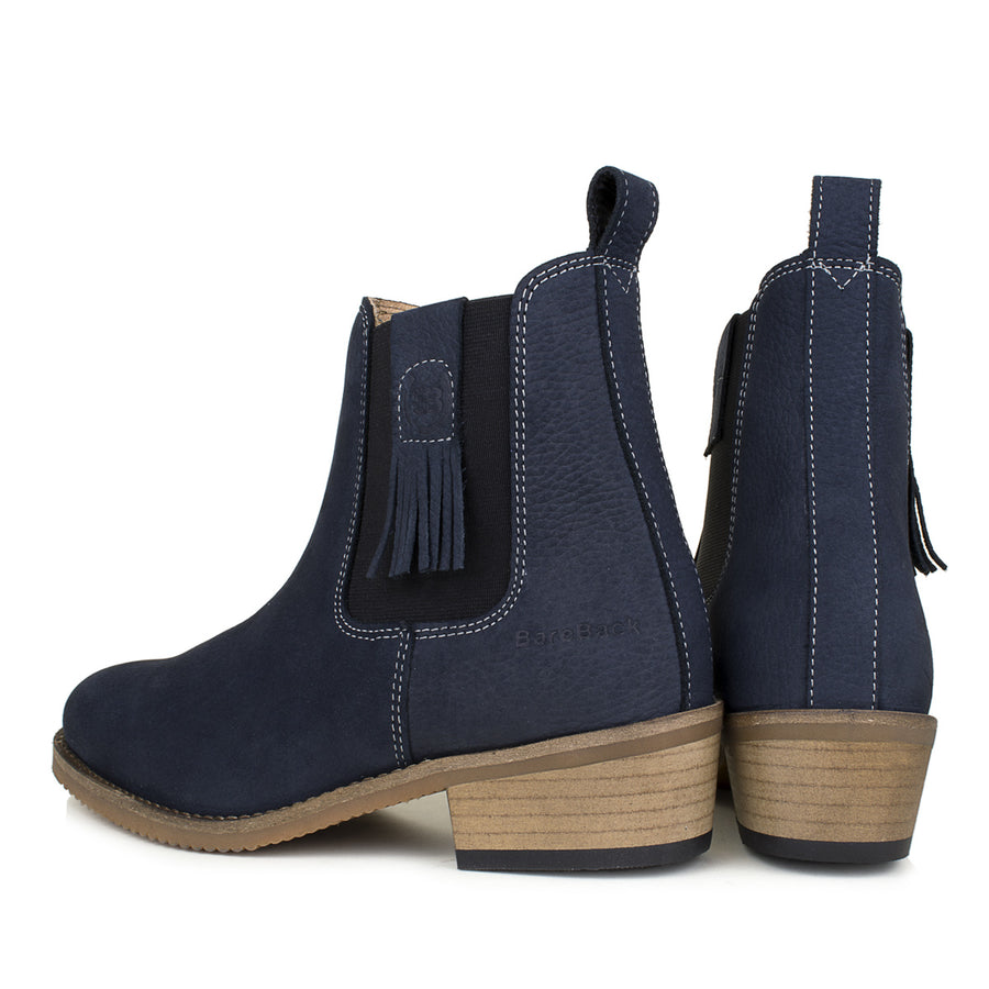 Tulsa-navy-tassle-short-boot