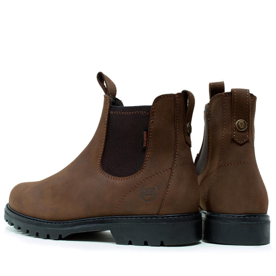 Vancouver Storm Waterproof Boots - Brown
