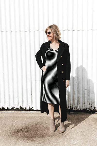 Striped Sheath Dress Styled Six Ways