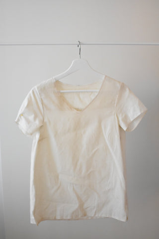 sample making process - muslin sample - made in dc