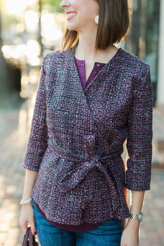 blazer for tall women - fall style inspiration - casual style