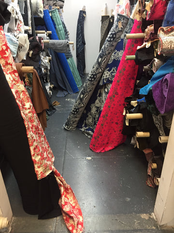 garment district nyc - fabric showroom - fabric sourcing - deadstock
