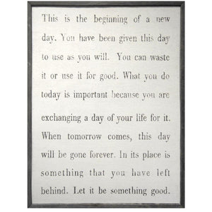 Sugarboo Designs This Is The Beginning Art Print - Life onPlum