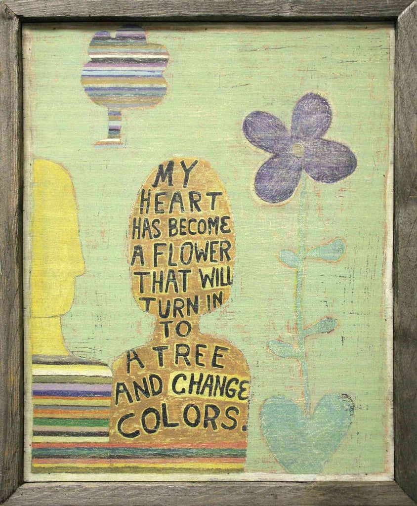Sugarboo Designs Art Print My Heart Has Become - Life onPlum