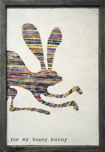 Sugarboo Designs Art Print For My Honey Bunny - Life onPlum
